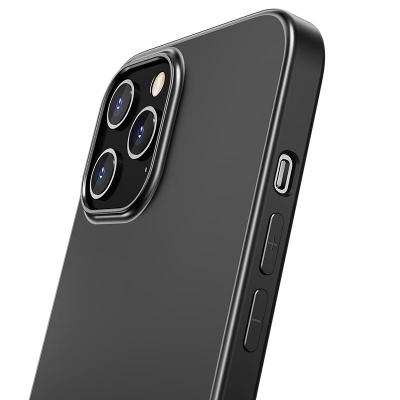 "Чехол HOCO Fascination series для iPhone 12/12 Pro 6.1"", черный, 0,8 мм"