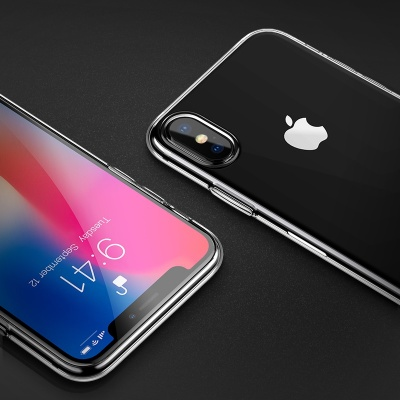 Чехол HOCO TPU Light Series для iPhone XSmax, прозрачный, 0,8 мм